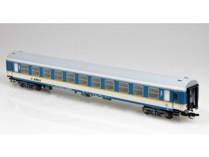 """TT - rychlíkový vůz 2. třídy Bomz """"alex""""  RBG  / Tillig 501636"""