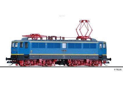 """TT - elektrická lokomotiva 211 032-8 """"S-Bahn Leipzig"""", DR / Tillig 501731"""