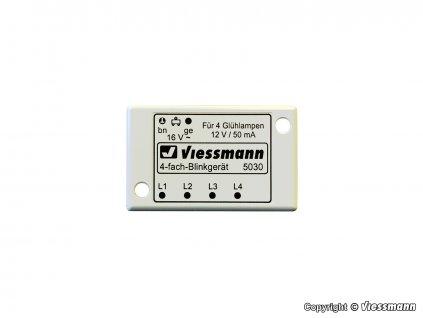 AKCE! H0 - Čtyřnásobné blikací zařízení / Viessmann 5030