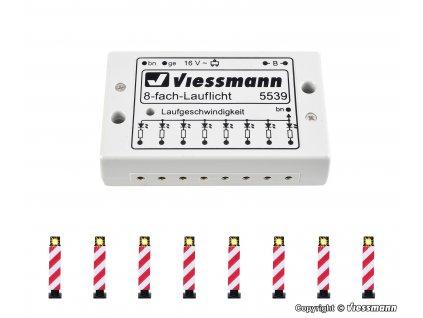 H0 - Výstražné sloupky, 8 sloupů / Viessmann 5040