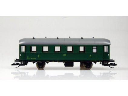 ARCHIV TT - osobní vůz 2. třídy Bi, ex Ci33, ČSD, č. vozu 4-7423/ Schirmer 50711