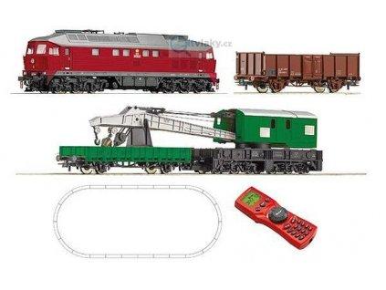 H0 - Digital Set ČSD - lokomotiva T 679 + 3 vozy, MultiMaus  / ROCO 51272