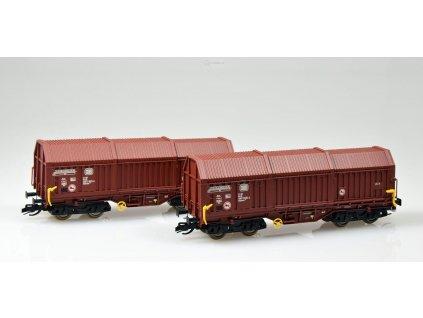 TT - Set 2 vozů s posuvnými stěnami, DB / Kuehn 51330