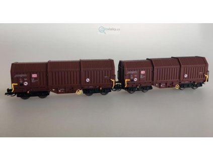 TT - Set 2 vozů s posuvnými stěnami DB AG / Kuehn 51340