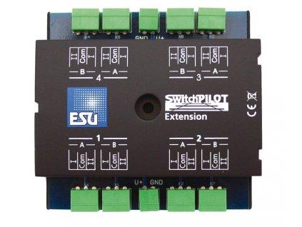 363763 1 esu switchpilot extension 4x vyhybkovy dekoder vystupy na srdcovky esu 51801