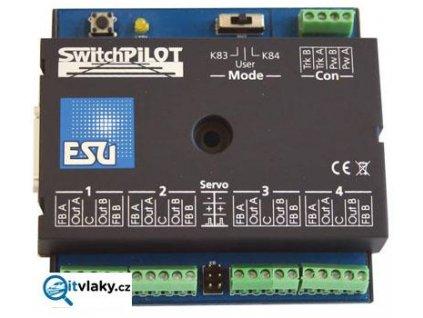 363784 dekoder switchpilot v2 0 pro 4 vyhybky zpetna vazba 2 x servo esu 51820