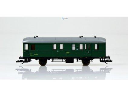 ARCHIV TT - Poštovní vůz ,,ex PwPosti 34a,, ČSD / Schirmer 52120