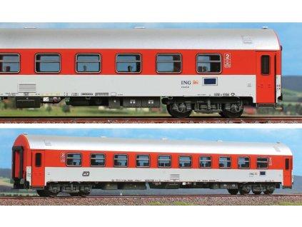 H0 - rychlíkový vůz 2.třídy Bpee ČD s klimatizací / A.C.M.E. 52972