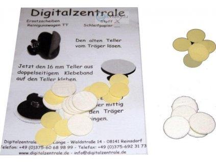 TT  - sada leštících čistících kotoučků - tkanina / Tomix 530030
