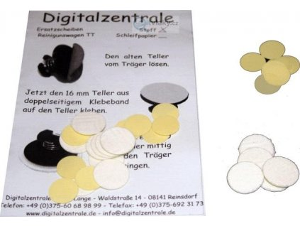TT  - sada čistících kotoučků brousících / Tomix 530060 EPV