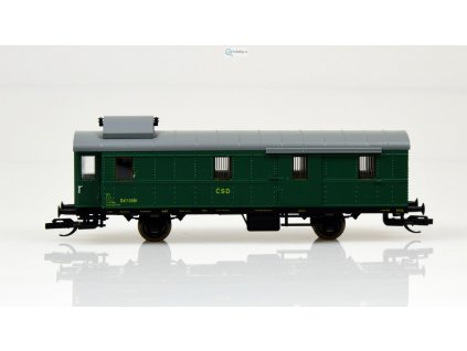 ARCHIV TT - Zavazadlový vůz ,,ex Pwi 31a,, ČSD / Schirmer 53100