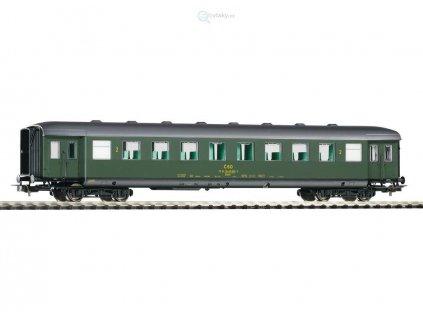 ARCHIV H0 - osobní vůz ČSD 2.třídy Balm / PIKO 53281