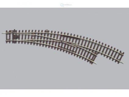 H0 - Pravá oblouková výhybk  BWR 30° A-Gleis / PIKO 55223