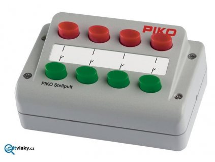 H0 - Ovládací pult na 4 výhybky / PIKO 55262