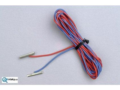 H0 - Spojovací kolík s napájecím kabelem, 2ks / PIKO 55292