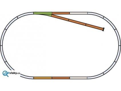 H0 - Kolejový set B, odstavaná kolej A-Gleis / PIKO 55310