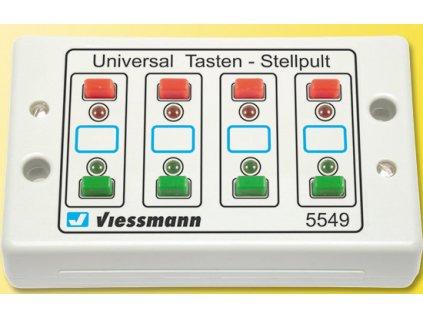 Univerzální ovládací panel 4x2 , info 8x LED / Viessmann 5549