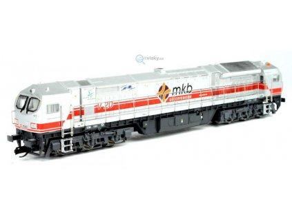 TT - lokomotiva BOMBARDIER BLUE TIGER MKB / MEHANO 55530