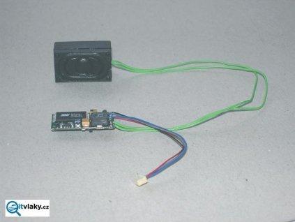 H0 zvukový modul do BR101, BR185.2, BR186 pro dekodéry 56121/ PIKO 56193