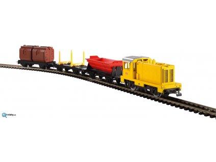 H0 - PIKO myTrain Start Set - lokomotiva + 3 nákladní vozy/ Piko 57090