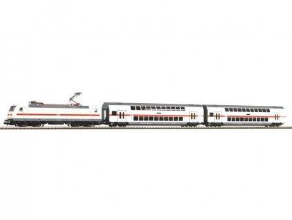 H0 - Start Set lokomotiva BR 146 DB AG + 2 patrové vozy IC / PIKO 57133