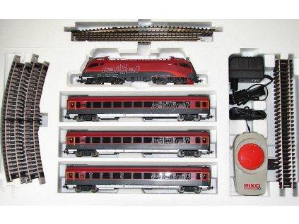 H0 - startset Railjet jednotka Taurus, OBB / PIKO 57172
