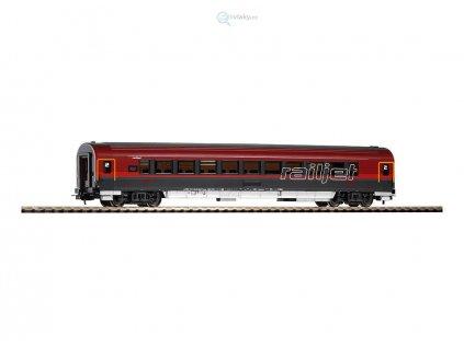 """H0 - Rychlíkový vůz """"Railjet"""" 2. třídy, OBB / PIKO 57643"""