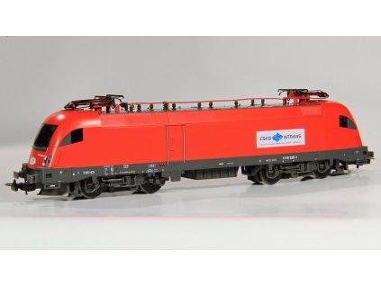 H0 - Elektrická lokomotiva ČD Taurus 1016 CSKD/Intrans ITL/ Piko 57918