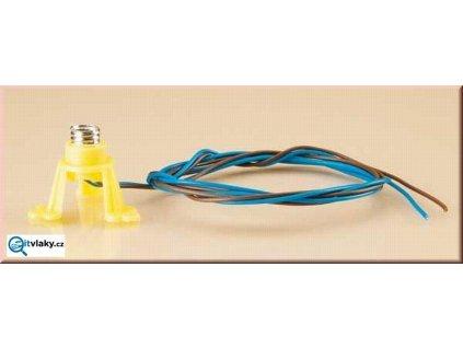 Osvětlení do domku -plastový stojan na žárovku / Auhagen 58791