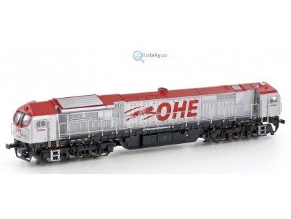 TT - Dieselová lokomotiva Blue Tiger, OHE / Mehano 58853