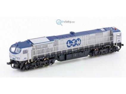 TT - Dieselová lokomotiva Blue Tiger, LTH / Mehano 58855