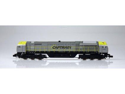 Poslední! N - Dieselová lokomotiva Blue Tiger, Captrain / Mehano 58856