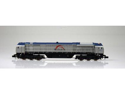 SLEVA! N - Dieselová lokomotiva Blue Tiger, TXL / Mehano 58858