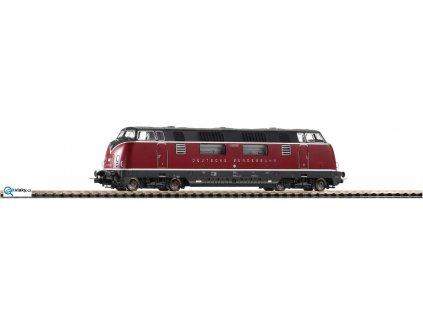 H0 - Dieselová lokomotiva řady 200, DCC se zvukem, nové číslo / PIKO 59708