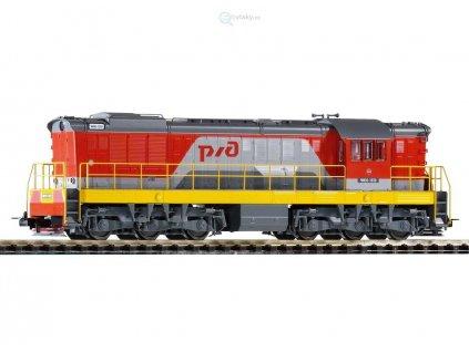 H0 - lokomotiva Čmelák ChMe3, RZhD / Piko 59783