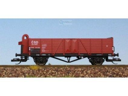 ARCHIV TT - nákladní vůz Villach s budkou, ČSD / Schirmer 60310