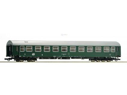 ARCHIV H0 - lehátkový vůz ČD, 2. třídy Bc / ROCO 64875