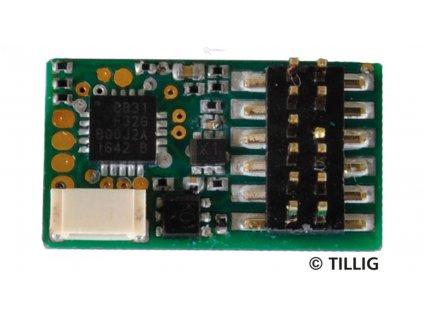 mikro lokodekodér PluX12, NEM 658 Uhlenbrock / Tillig 66035