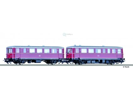 H0 - DCC/ZVZUK Startset DB: Motorový vůz VT 70.9 / Tillig 70091