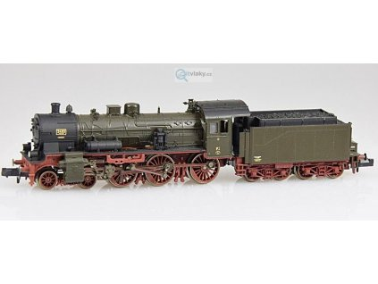 SLEVA! N - DCC parní lokomotiva řady P8, K.P.E.V / FLEISCHMANN 716086