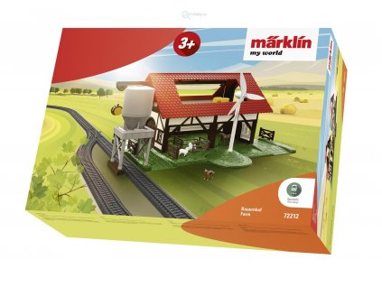 H0 - farma se zvířaty Märklin my world / Marklin 72212