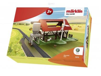 H0 - farma se zvířaty Märklin my world / Marklin 72212