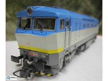 ARCHIV H0 - lokomotiva 752, ZSSK Bardotka / ROCO 72924
