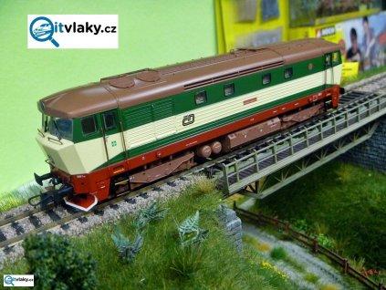 H0 - lokomotiva ř. 749.250-7, ČD, limitovaná edice / ROCO 72932