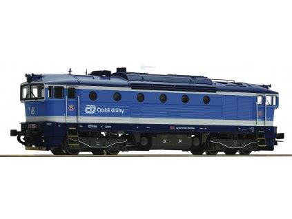 Návrh! H0 - Lokomotiva ČD 754 Brejlovec Najbrt / ROCO 72948