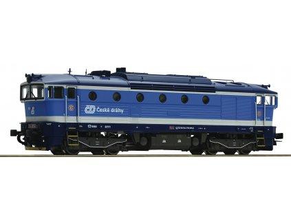 Návrh! H0 - DCC/ZVUK lokomotiva ČD 754 Brejlovec Najbrt / ROCO 72949