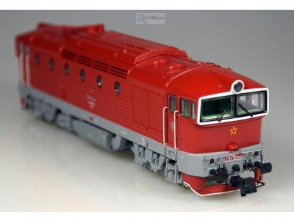 ARCHIV H0 - DCC/ZVUK lokomotiva  T478.4048 ČSD Brejlovec červená / ROCO 72963