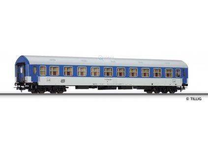 ARCHIV H0 - lehátkový vůz, 2. třída typu Y ČD/ Tillig 74505