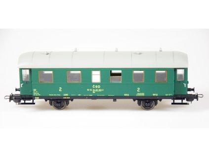 H0 - Osobní vůz 2. třídy Be ČSD (ex. BCi-34) / Tillig 74843