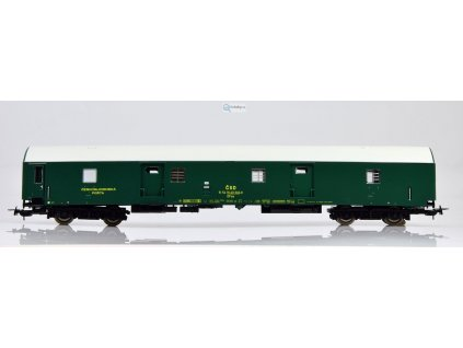 H0 - poštovní vůz DFsa, typ Y, ČSD / Tillig 74861